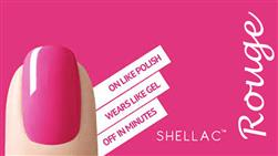 £15 for Shellac fingers and toes (worth £30) at Rouge, Wallasey!