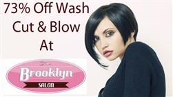 £10 For A Wash Cut & Blow Dry Plus Conditioning Treatment (Worth £36) At Brooklyn Salon, Chester City Centre