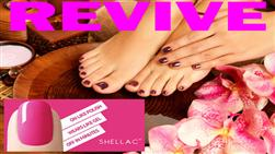 £20 For Shellac Fingers & Toes, Worth £44 At Revive, Handbridge.