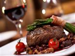 £19.25 for a steak dinner for two with a bottle of wine to share, worth £38.85 at The Hooton Hotel, Hooton!