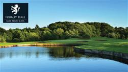 £40 For A Round Of Golf For Two People Worth £80 At Formby Hall Golf Resort & Spa, Liverpool!