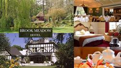£99 For A 3 Course Dinner, Overnight Stay And Full English Breakfast For Two People (worth £190) At The Beautiful Brook Meadow Hotel In Childer Thornton!