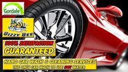 £15 For A Hot Water Hand Car Wash & Mini Valet Plus Full Hand Wax (Worth £32) From Bizzy Bee Car Wash, Gordale!